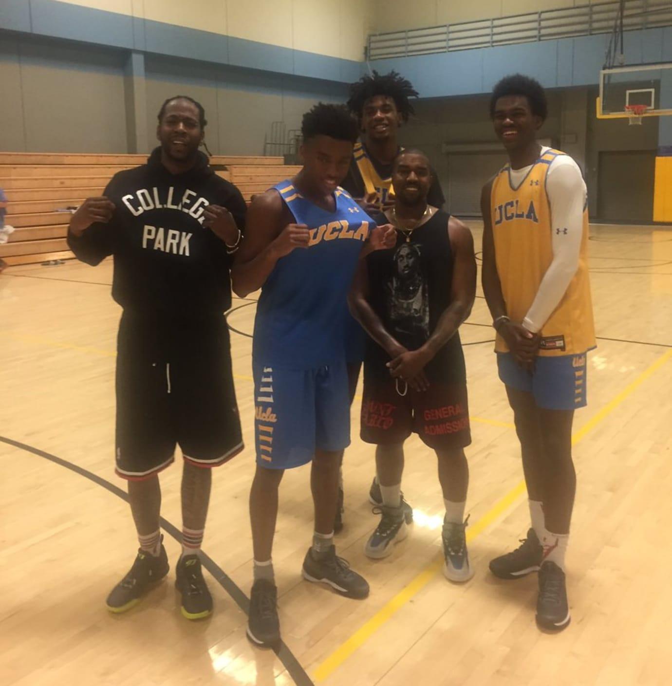 Kanye West 2 Chainz UCLA