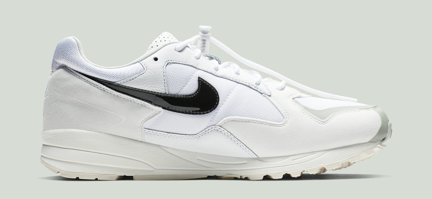 Fear of God x Nike Air Skylon 2 'White/Black-Light Bone-Sail' BQ2752-100 (Medial)
