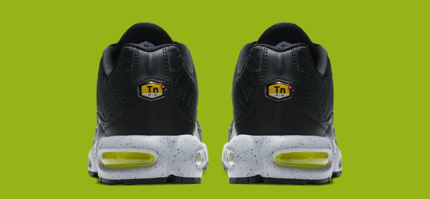e1c5ed33a7 Image via Nike Nike Air Max Plus 'Black/Matte Silver/Volt' 815994-003 (