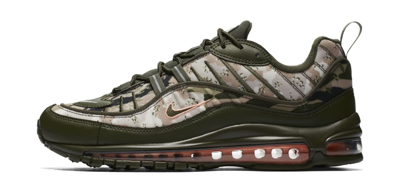 8414850a5d Nike Air Max 98 'Desert Camo' AQ6165-300 Release Date | Sole Collector