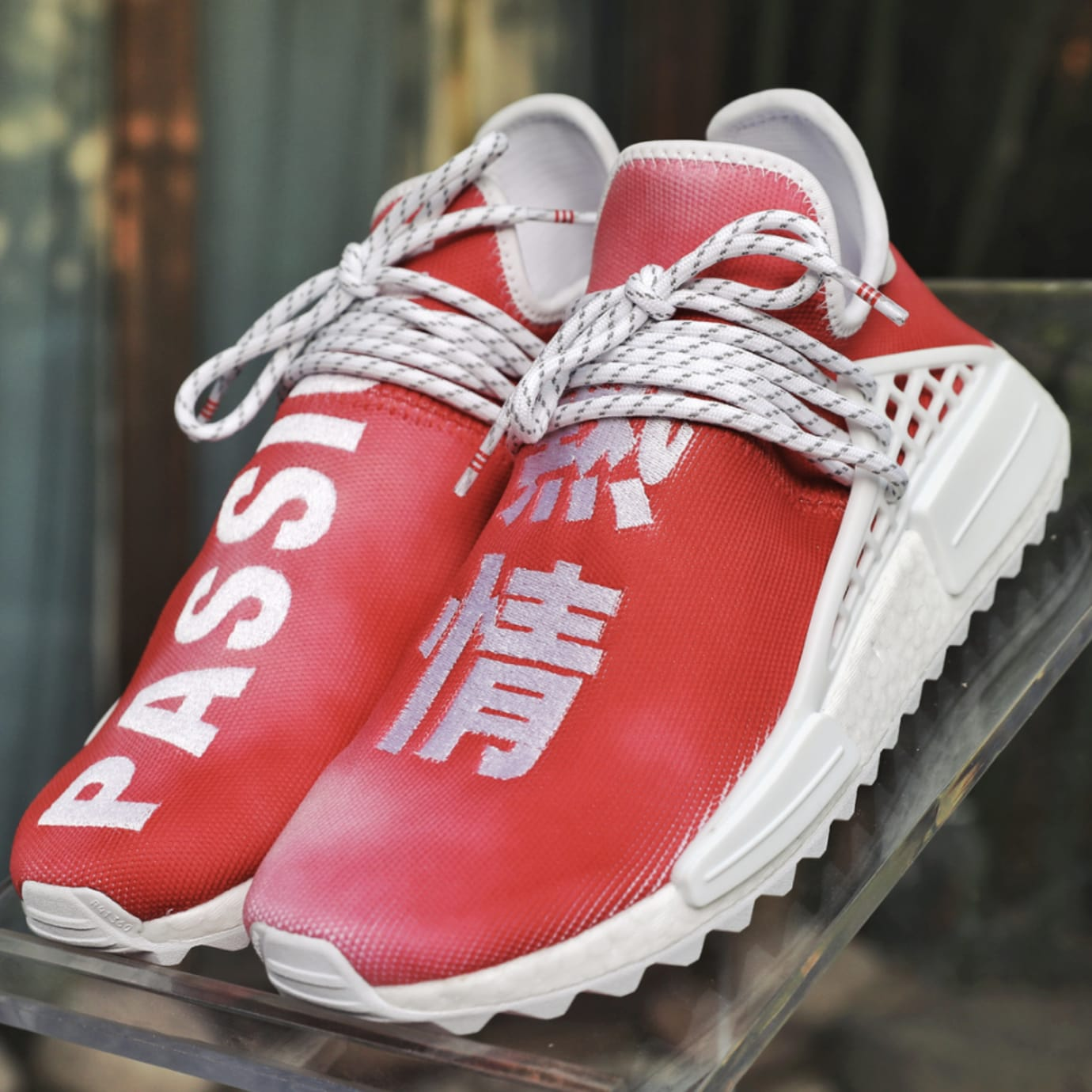 001dbdd61 Image via Instagram   kicksvision Pharrell x adidas nmd hu china pack   passion red