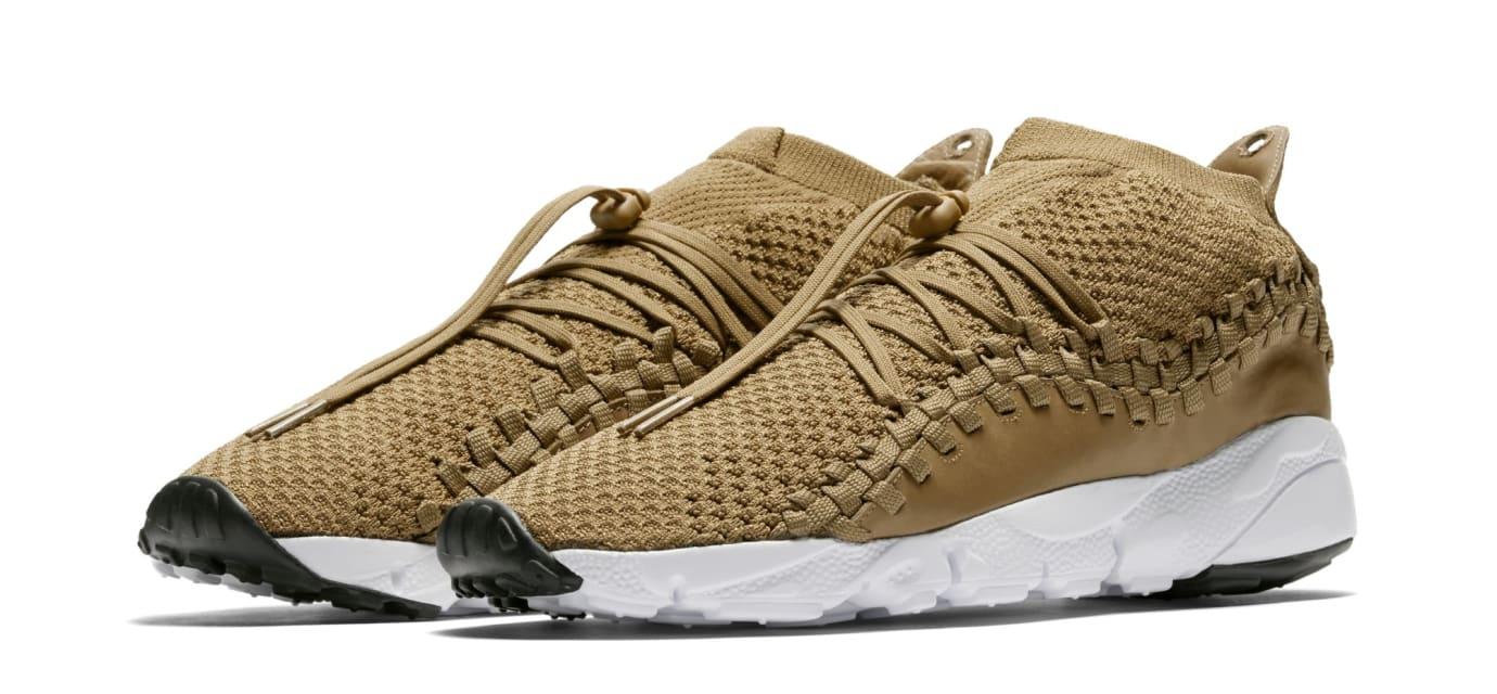 Nike Footscape Woven Chukka Flyknit 'Golden Beige' AO5417-400 (Pair)
