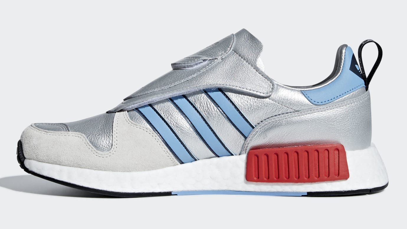 Adidas Micropacer NMD R1 Silver Release Date G26778 Medial