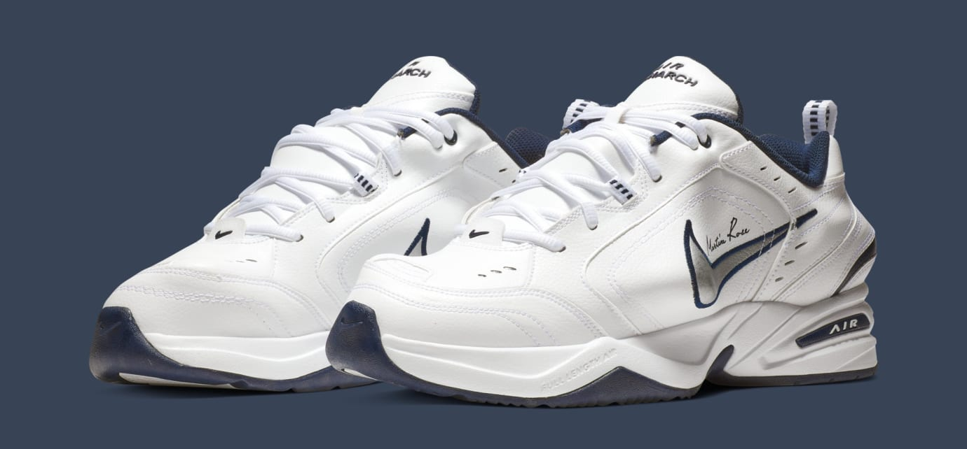 the best attitude a96da 199fc Martine Rose x Nike Air Monarch 4  White  AT3147-100 (Pair)