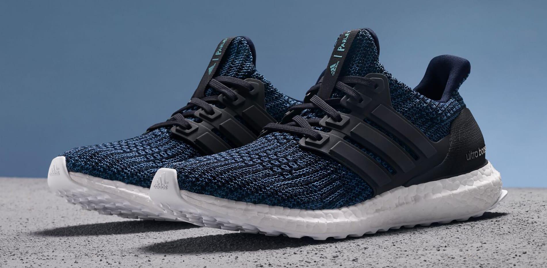 Parley x Adidas Ultra Boost 'Deep Ocean Blue'