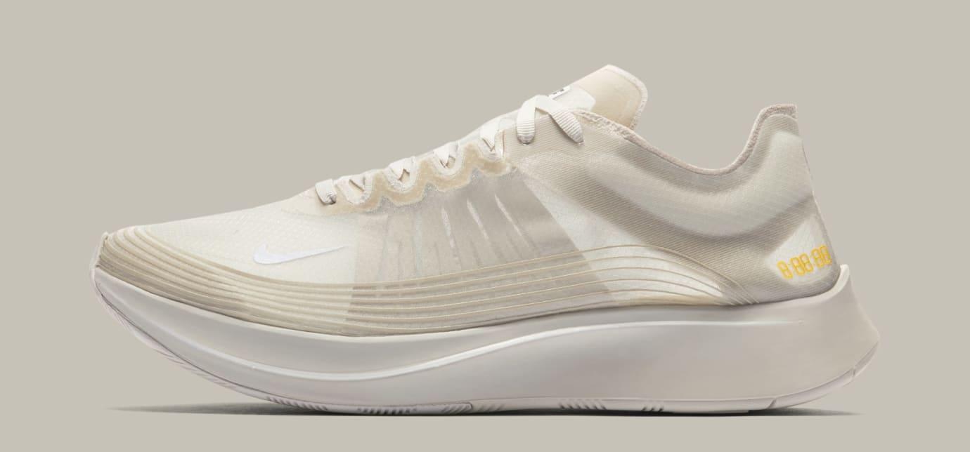 Nike Zoom Fly SP 'Light Bone' AJ9282-001 (Lateral)