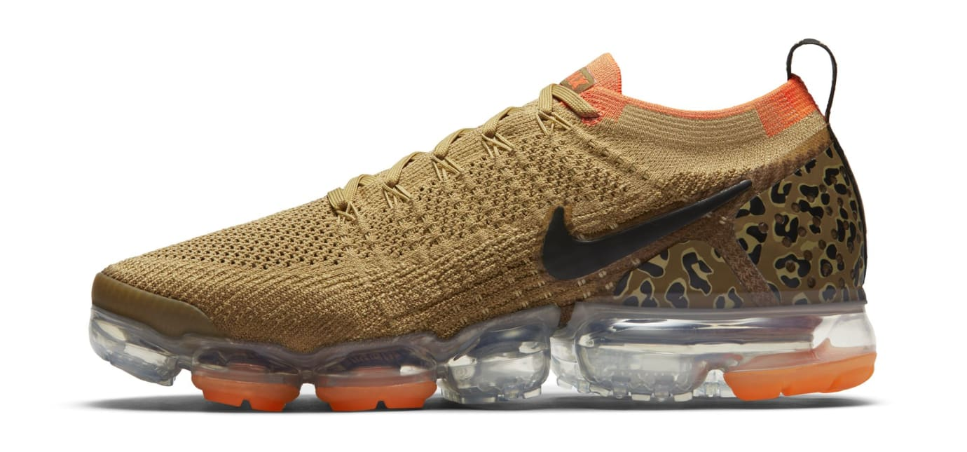 hot sales 4df37 d7276 Image via US11 · Nike Air VaporMax 2 Safari AnimalLeopard (Lateral)