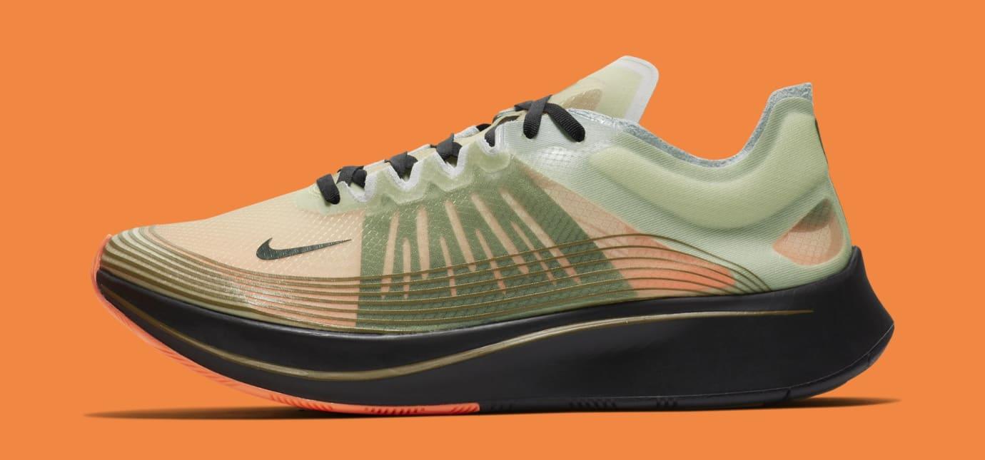 Nike Zoom Fly SP 'Medium Olive/Black' AJ9282-200 (Lateral)