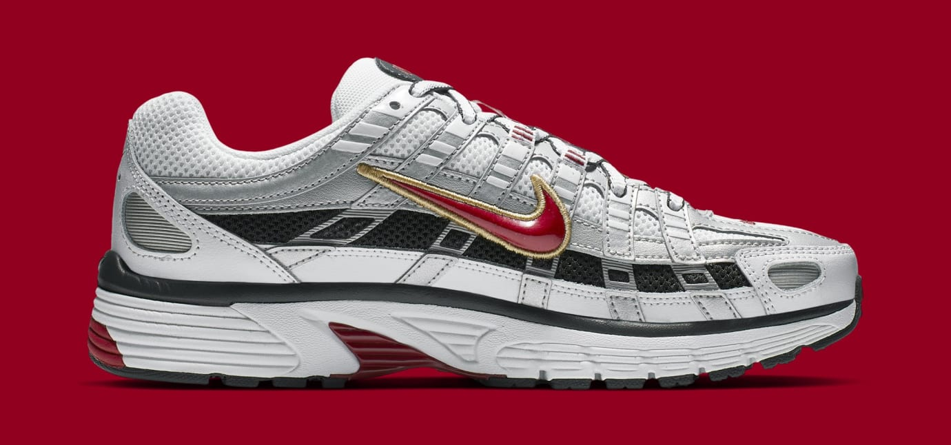 Nike P-6000 CNPT 'Metallic Silver/White/University Red' BV1021-101 (Medial)
