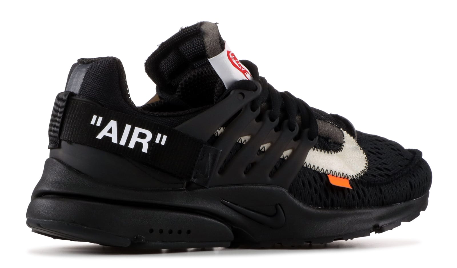 cd6b46e526f4f0 Image via Flight Club Off-White x Nike Air Presto  Black  AA3830-002 ...