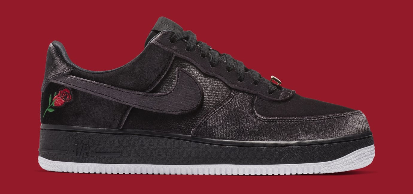 9733f4dc1c6a Image via Nike Nike Air Force 1 Low  Satin  AH8462-003 (Medial)