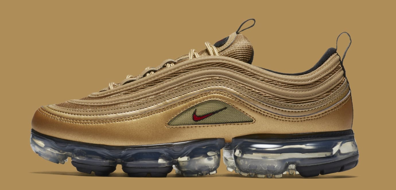 cd4561d44a Nike Air VaporMax 97 'Metallic Gold' AJ7291-700 Release Date | Sole ...