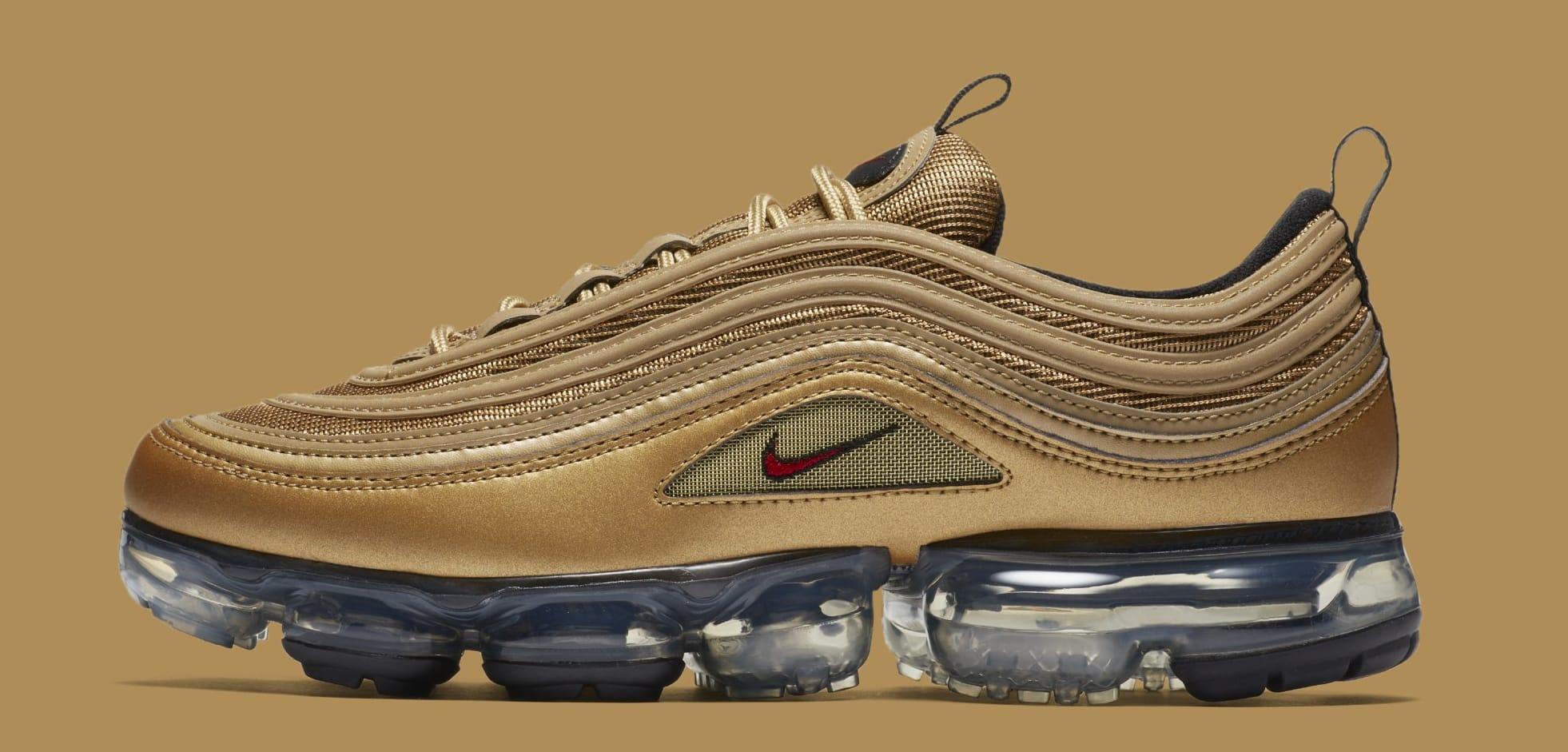 official photos 3c4db 348e3 Nike Air VaporMax 97 'Metallic Gold' AJ7291-700 Release ...
