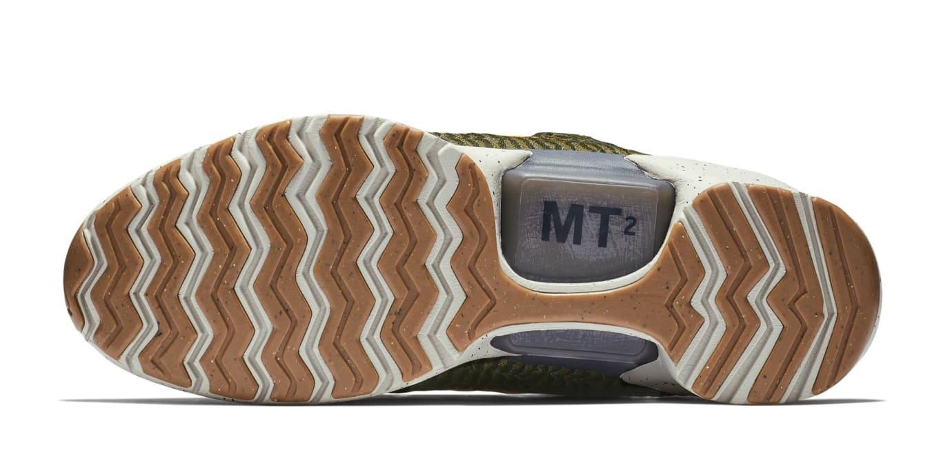 Nike HyperAdapt 1.0 'Olive Flak/Orange Peel' 843871-300 (Sole)