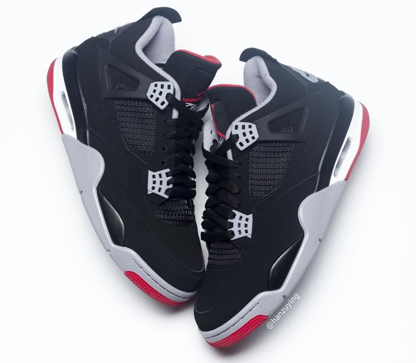 Air Jordan 4 Retro 'Bred' 2019 308497-060 Lateral Side