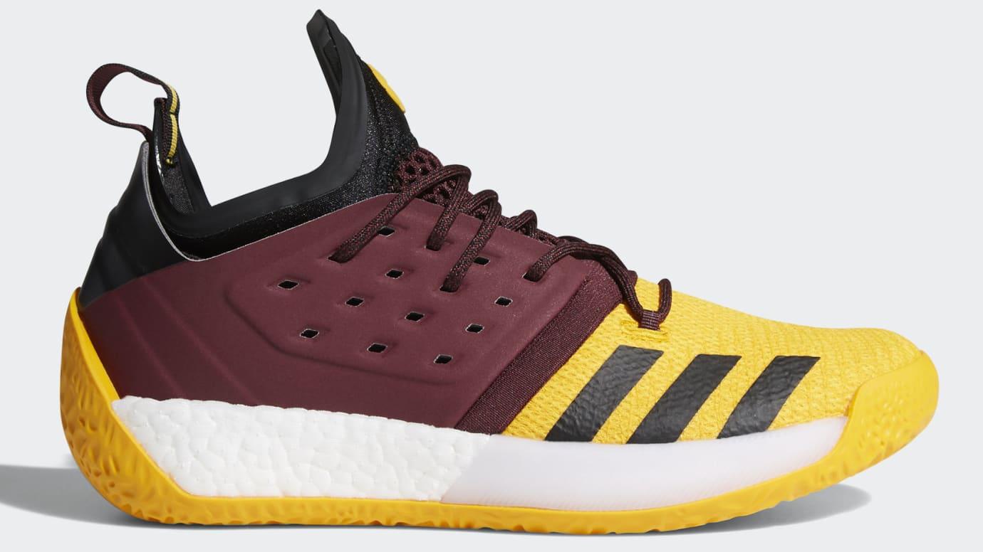 Adidas Harden Vol. 2 'Arizona State'