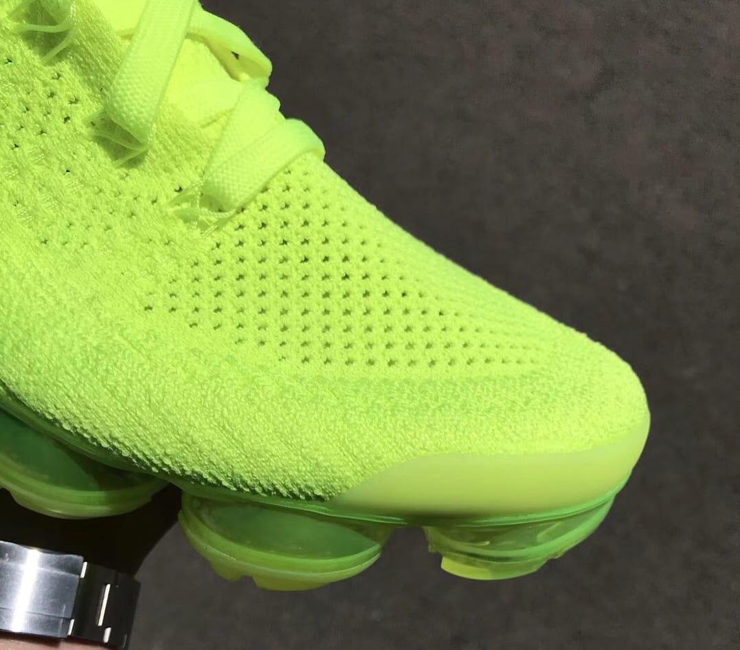 Nike Air VaporMax 2 Flyknit Volt Release Date 942842-700 (6)