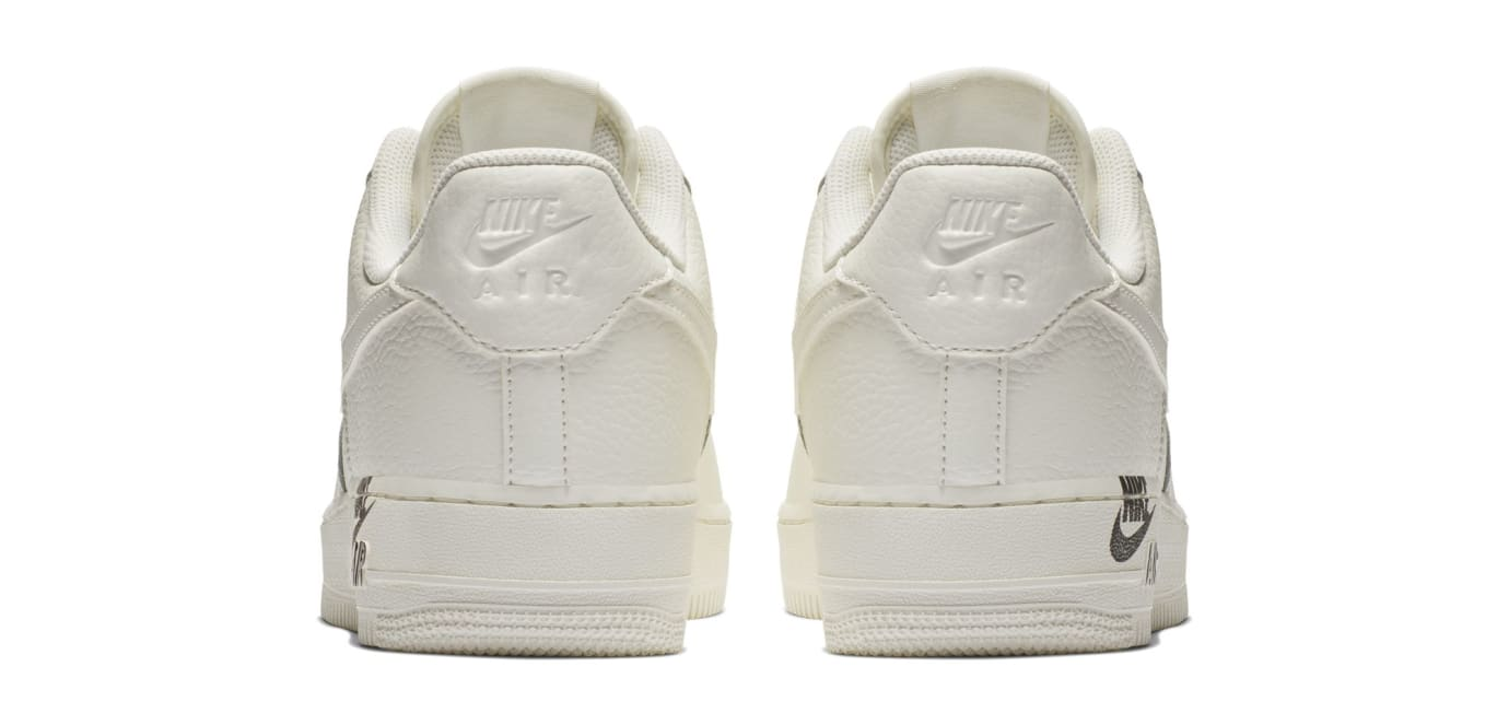 Nike Air Force 1 Low  07 LTHR 'Sail' (Heel)