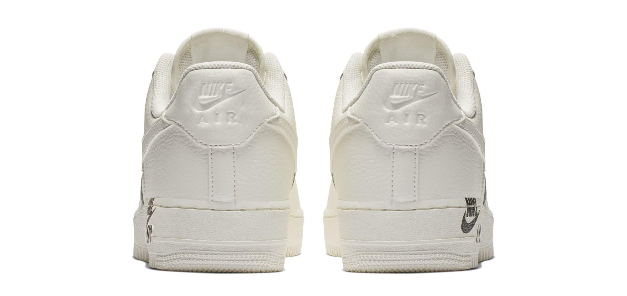 Nike Air Force 1 Low  07 LTHR 'Sail' (Heel)