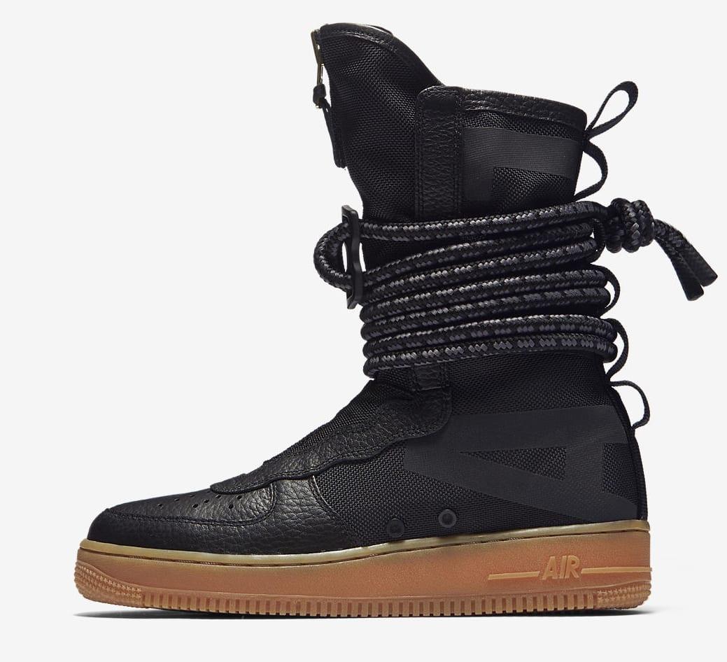 Nike AF Air Force 1 High Collection Black/Gum