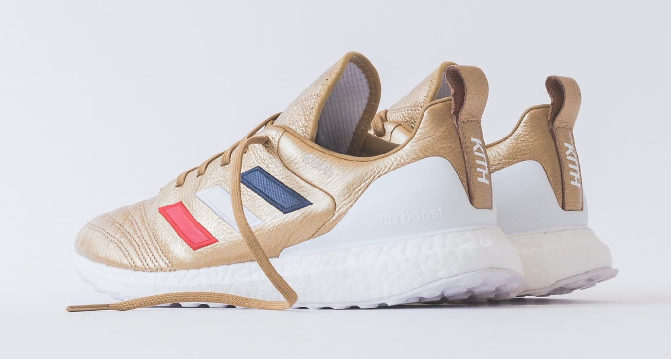 Kith x Adidas Soccer Copa Mundial 18 Ultra Boost (Heel)