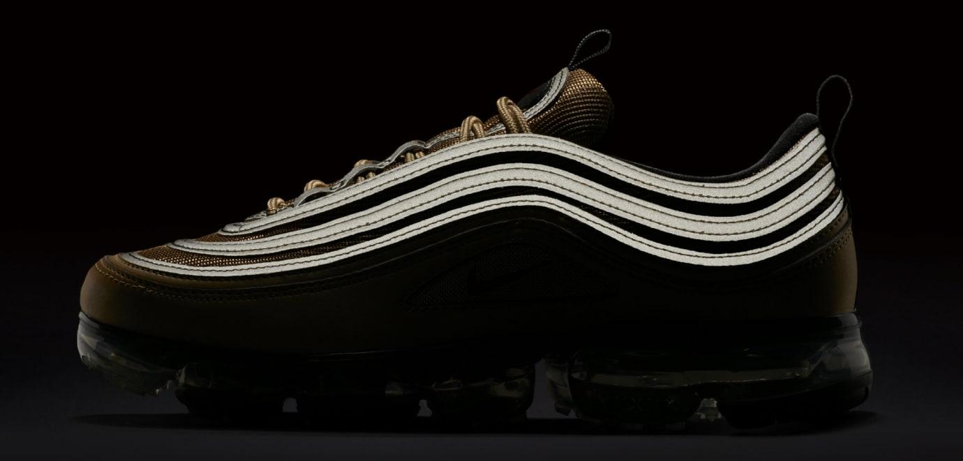 543dc624b29 Image via Nike Nike Air VaporMax 97  Gold  AJ7291-700 (Reflective)