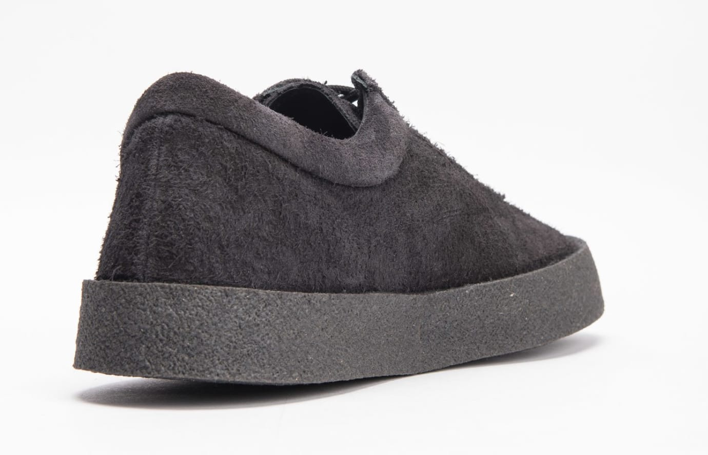 Yeezy Season 6 Crepe Sneaker Thick Shaggy Suede 'Black' KM5001-039 3