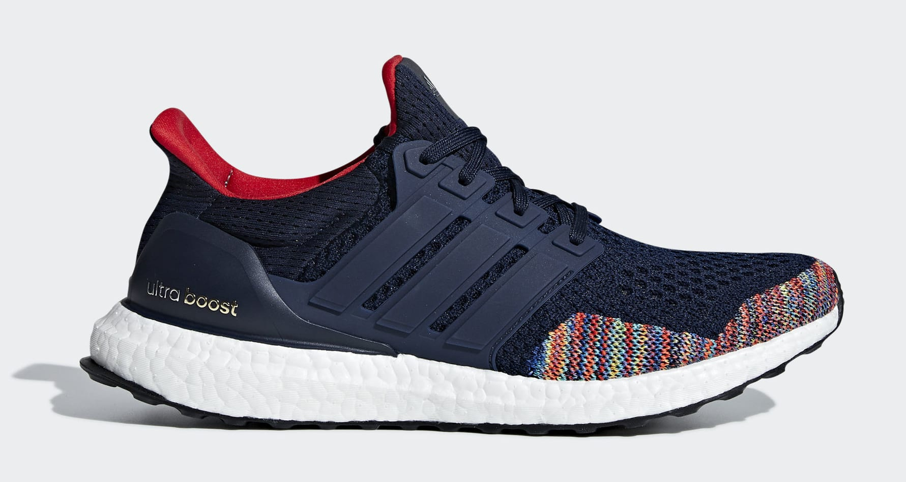 Adidas Ultra Boost 1.0 'Navy Multi' BB7801 (Lateral)