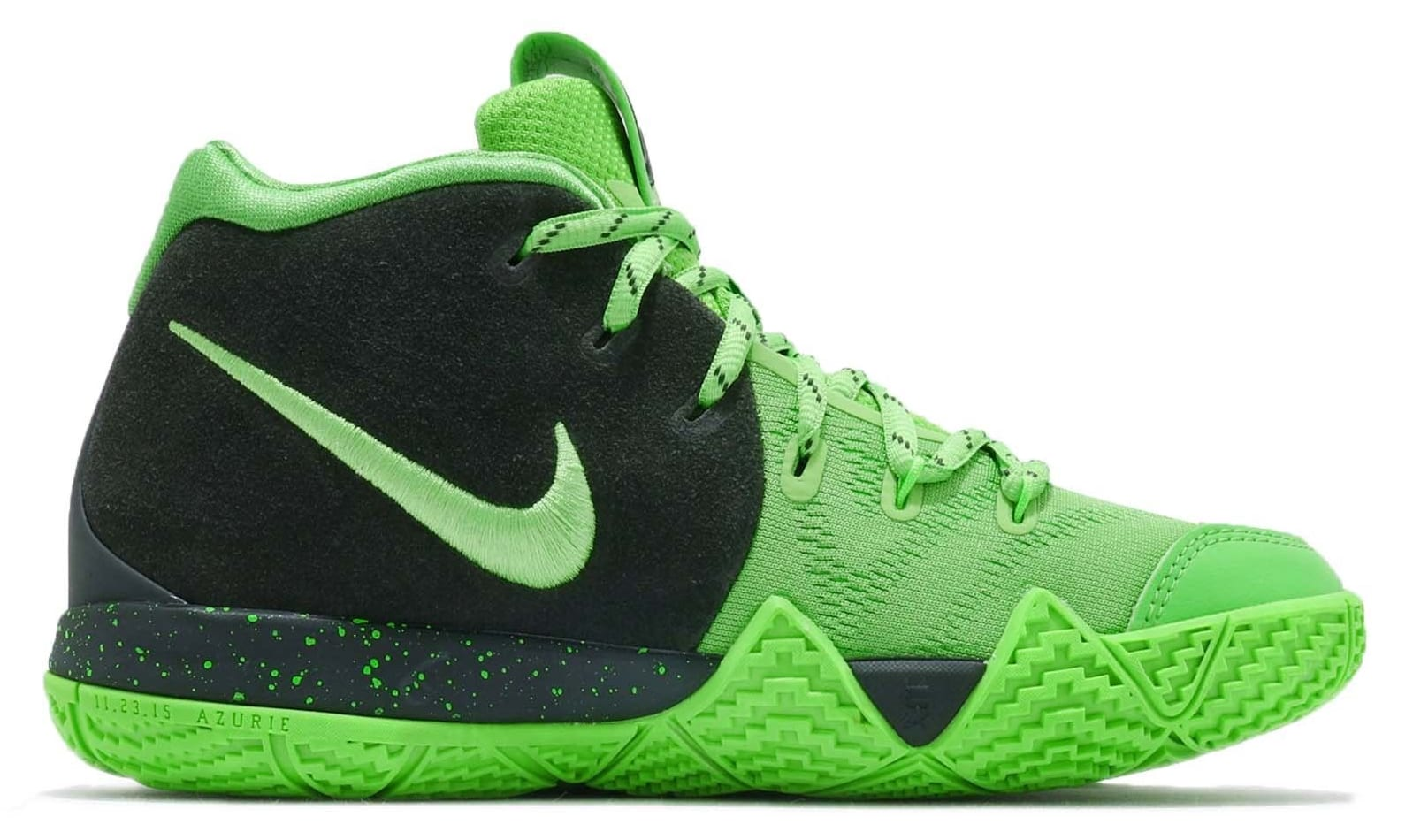 Nike Kyrie 4 GS Spinach Green Release Date AA2897-333 Medial