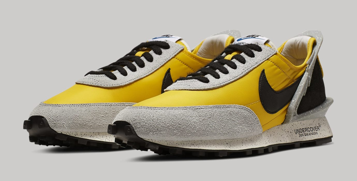 Undercover x Nike Daybreak Bright Citron/Black-Summit White BV4594-700 Pair