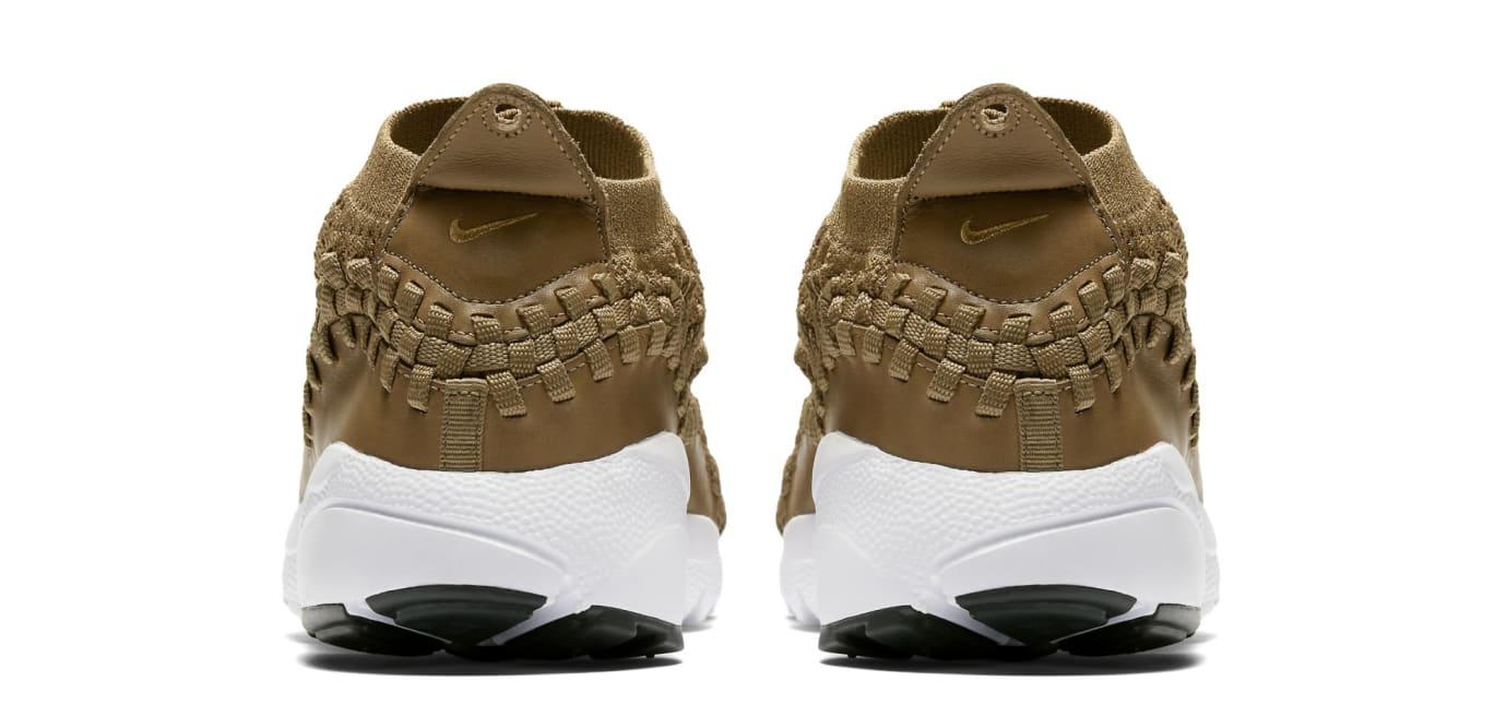 timeless design 21c3f 4581a Image via Nike Nike Footscape Woven Chukka Flyknit  Golden Beige  AO5417-400  (Heel)