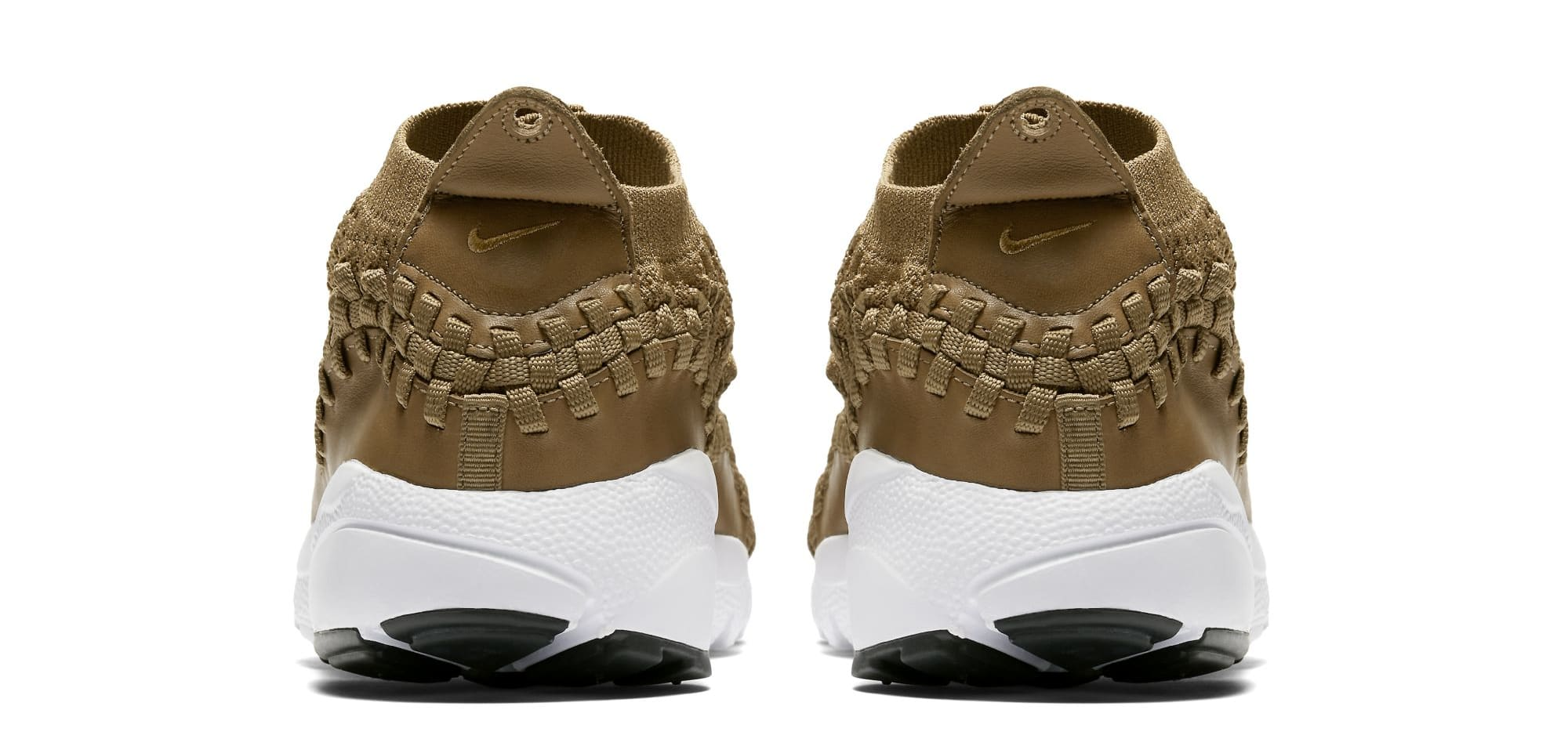Nike Footscape Woven Chukka Flyknit 'Golden Beige' AO5417-400 (Heel)