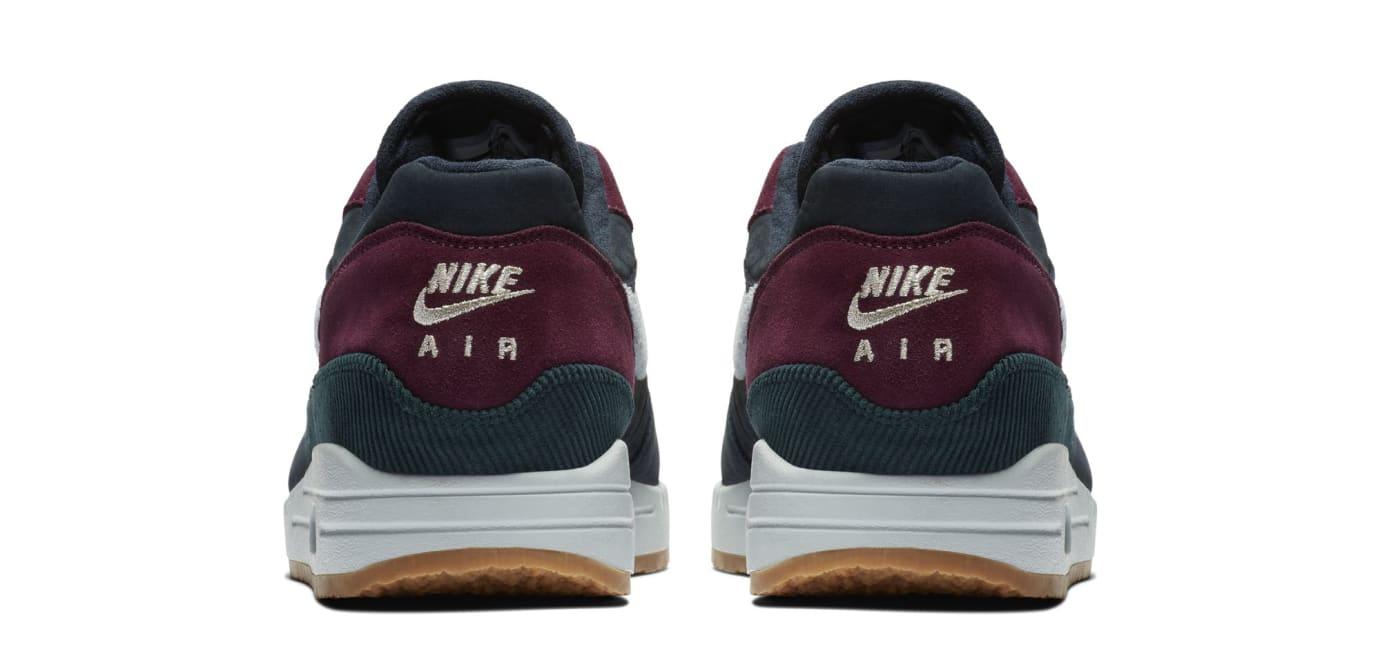 Nike Air Max 1 'Dark Obsidian/Cobalt Tint-Ocean Bliss' (Heel)