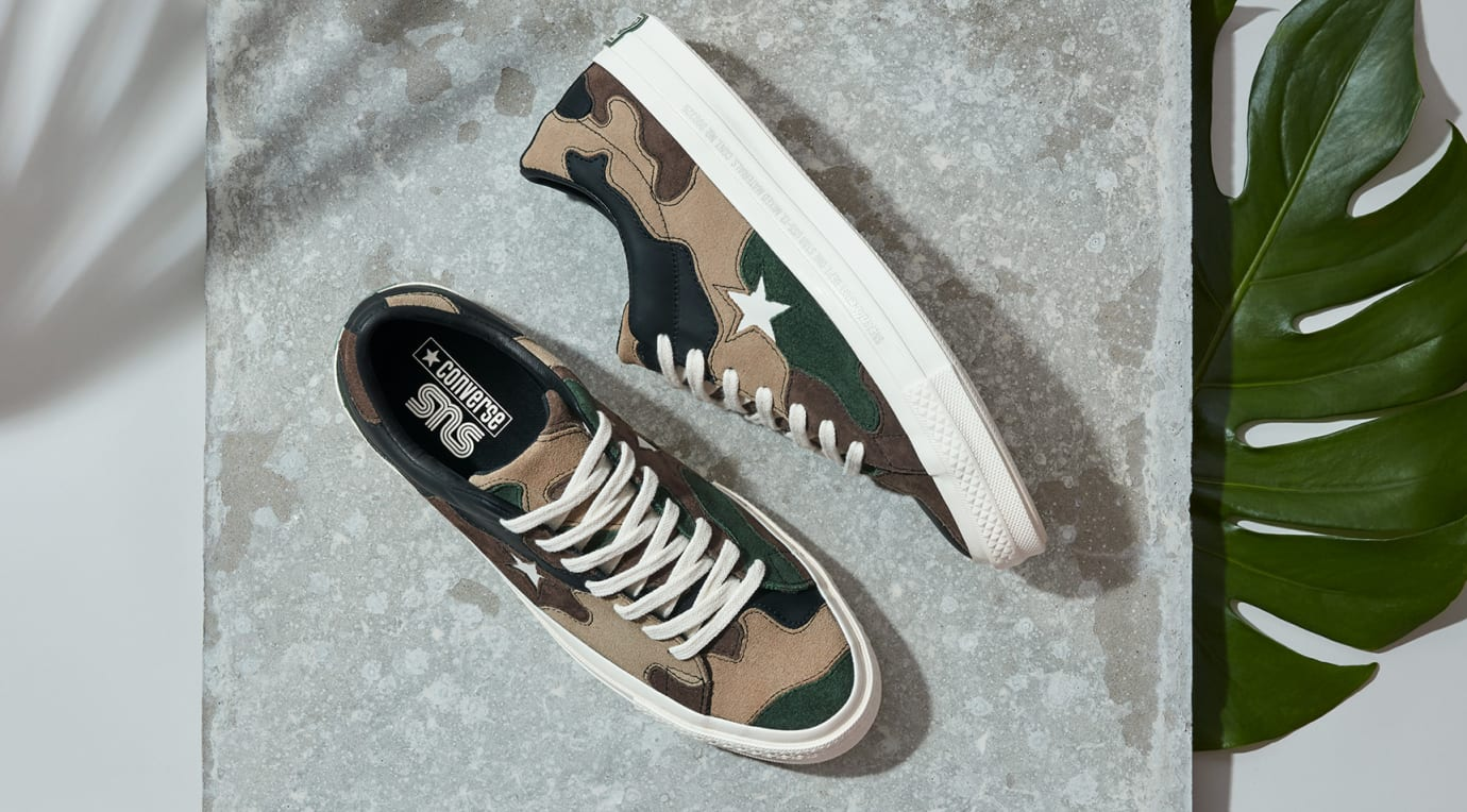 Sneakersnstuff x Converse One Star 'Canteen' (Top)