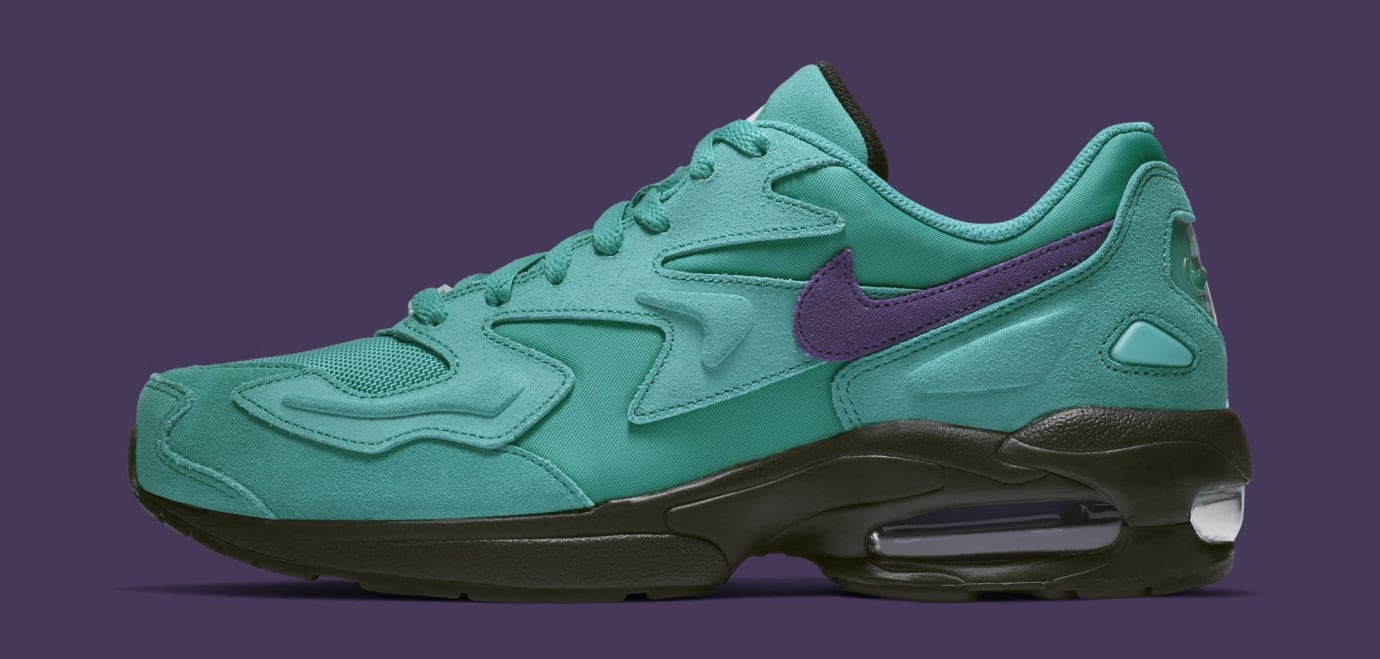 Nike Air Max2 Light 'Aqua' AO1741-300 (Lateral)