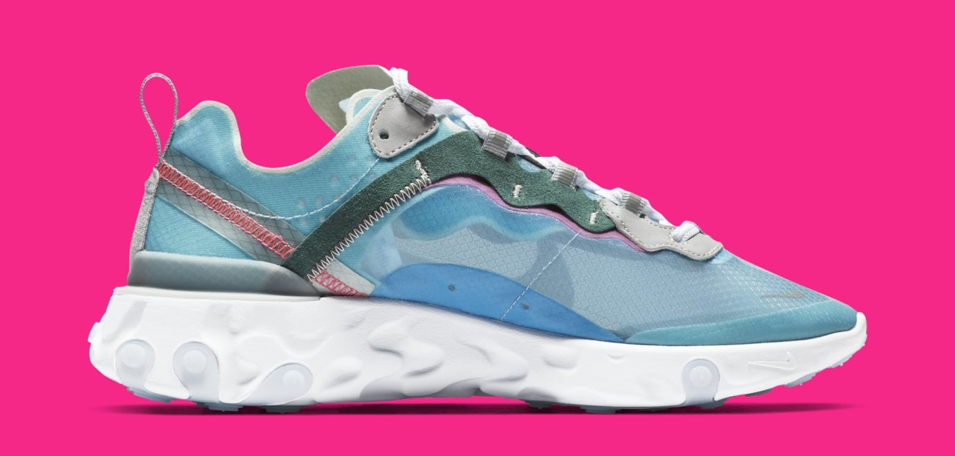 6c9c6be85538 Image via Nike Nike React Element 87  Royal Tint Black-Wolf Grey-Solar Red