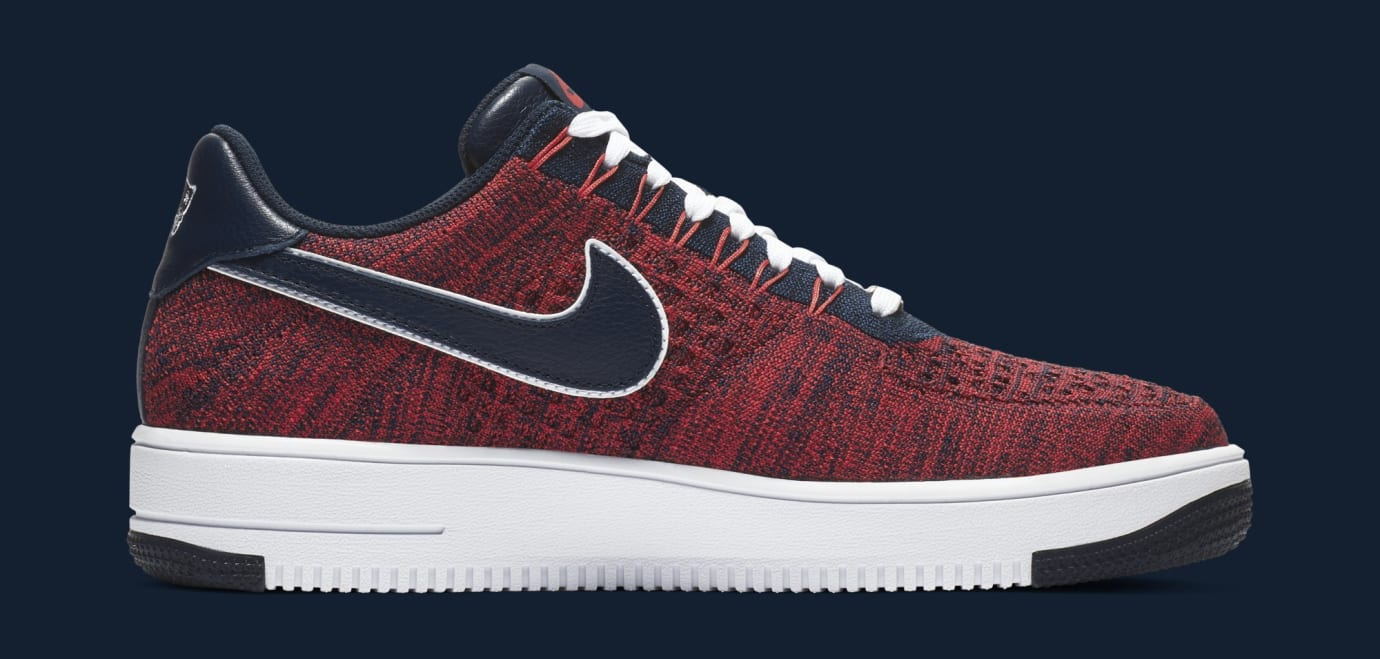 dec9a5edfbd Image via Nike Nike Air Force 1 Ultra Flyknit Low  RKK  AH8425-600 (Medial)