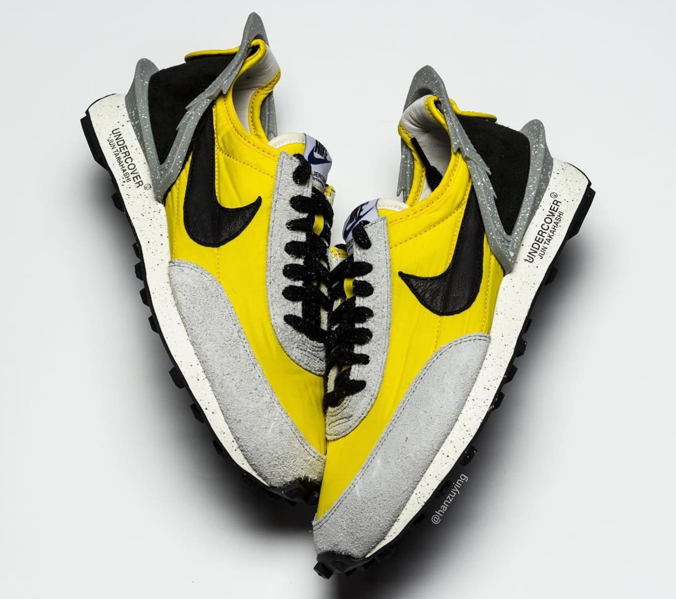 Undercover x Nike Daybreak Yellow/Grey BV4594-700 Lateral