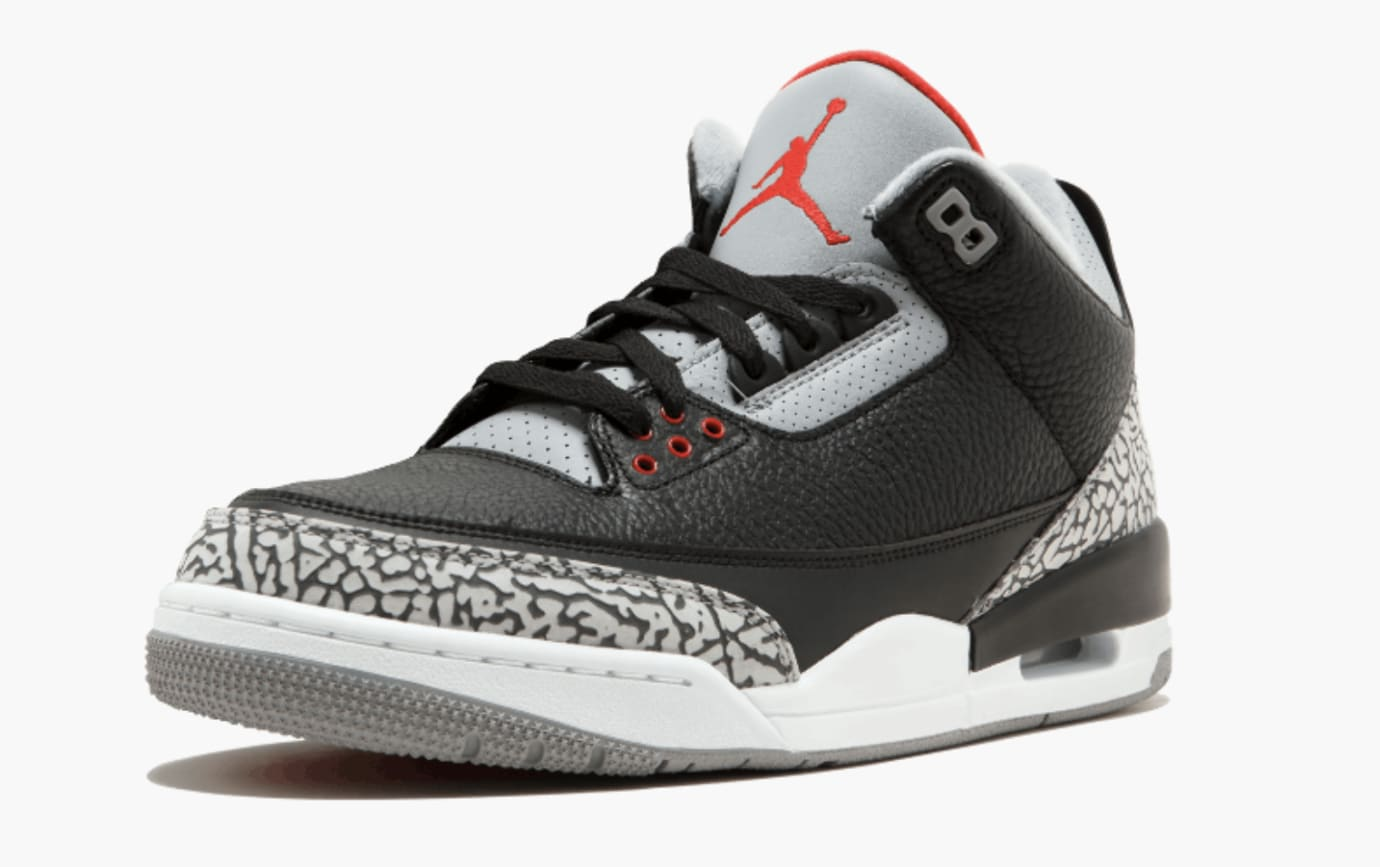 9bc418f89e8b49 A Closer Look at the 2018  Black Cement  Air Jordan 3