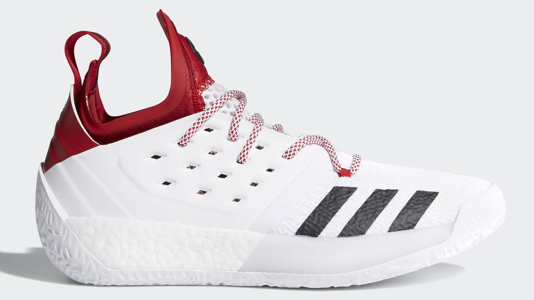 Adidas Harden Vol. 2 'Nebraska Cornhuskers'