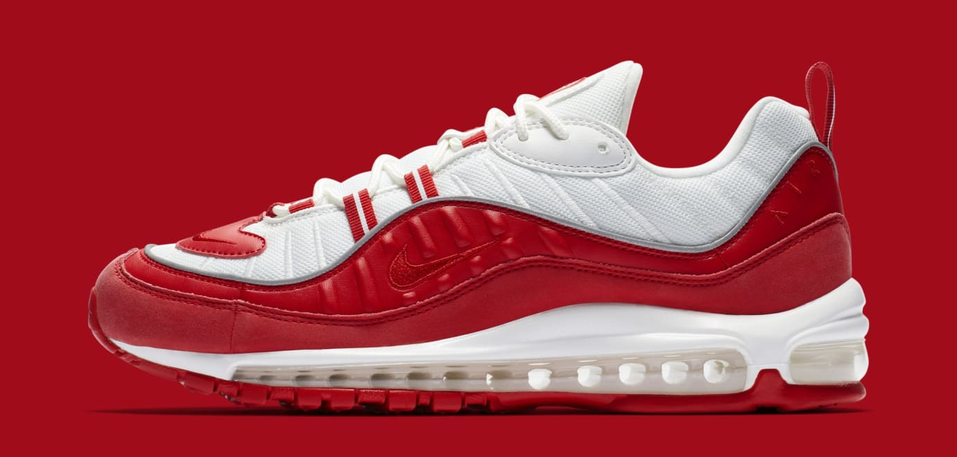 03ce8a685610 Nike Air Max 98  University Red  640744-602 Release Date