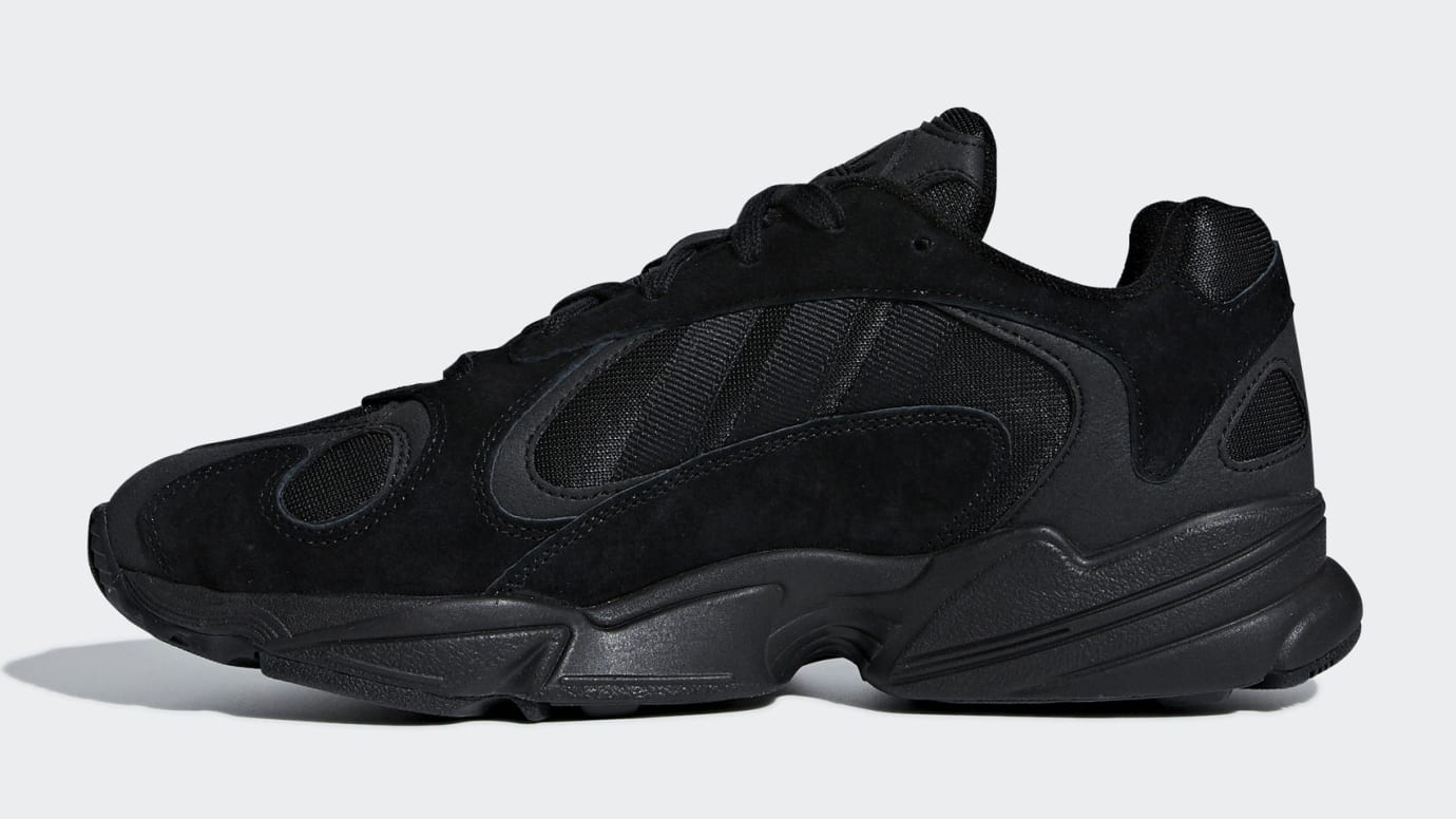 Adidas Yung-1 Triple Black Release Date G27026 Medial