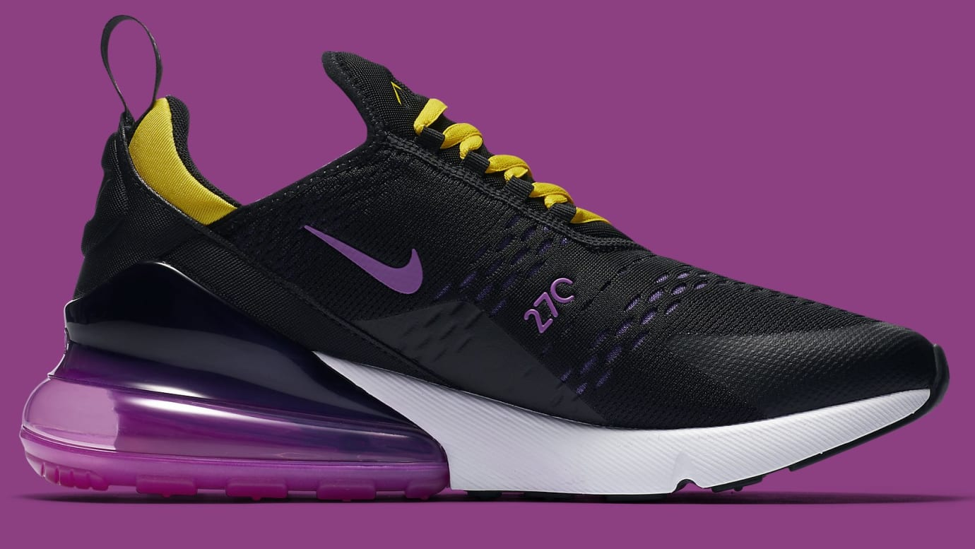 buy popular b11d3 34ab8 Nike Air Max 270 Los Angeles Lakers | Sole Collector