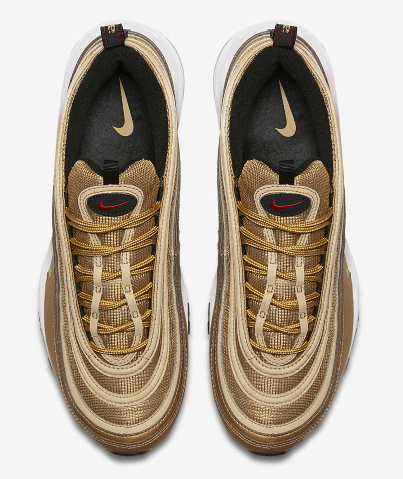 6049a5ba01 Nike Air Max 97 OG 'Metallic Gold' 884421-700 Release Date 2018 ...
