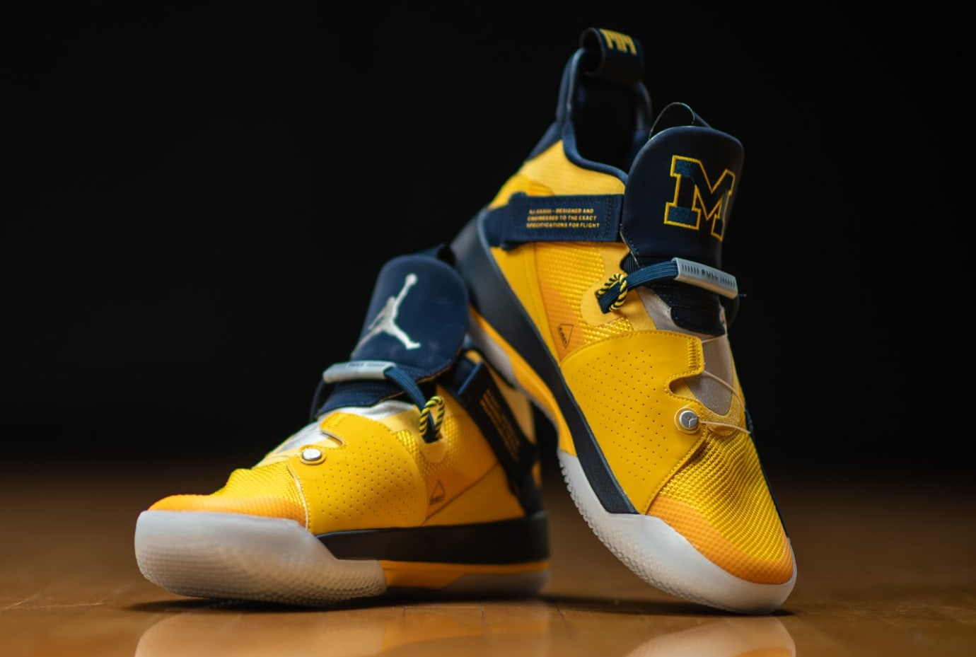 Air Jordan 33 'Michigan' PE 6
