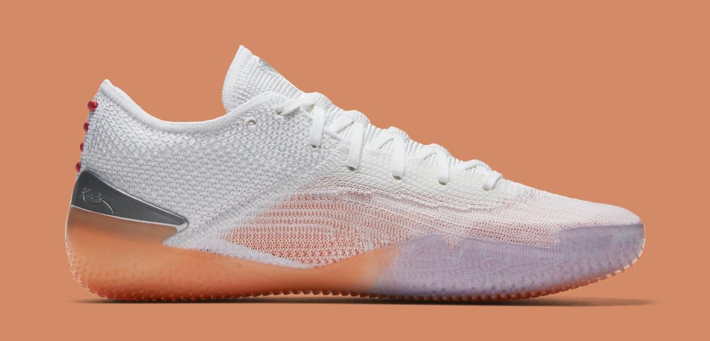 70a8e54185e2 Nike Kobe A.D. NXT 360 White Black Infrared 23 Volt Release Date ...