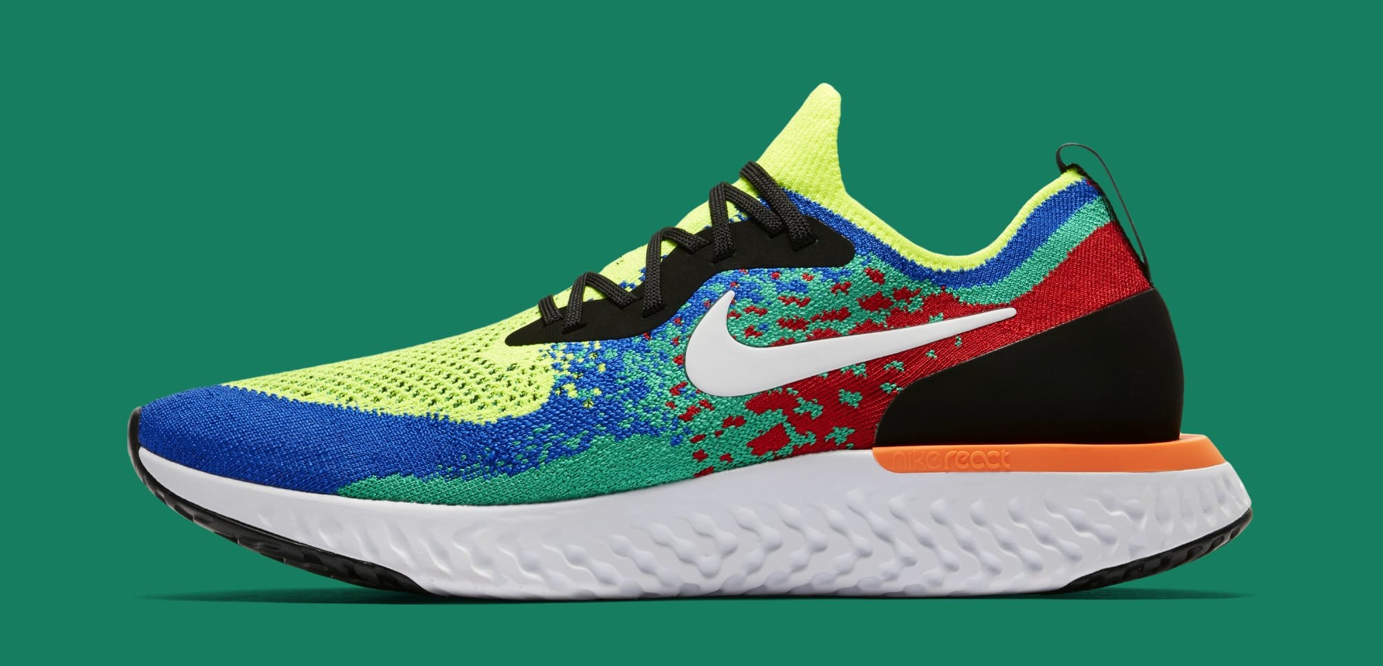 Nike Epic React Flyknit AT0054-700 (Lateral)