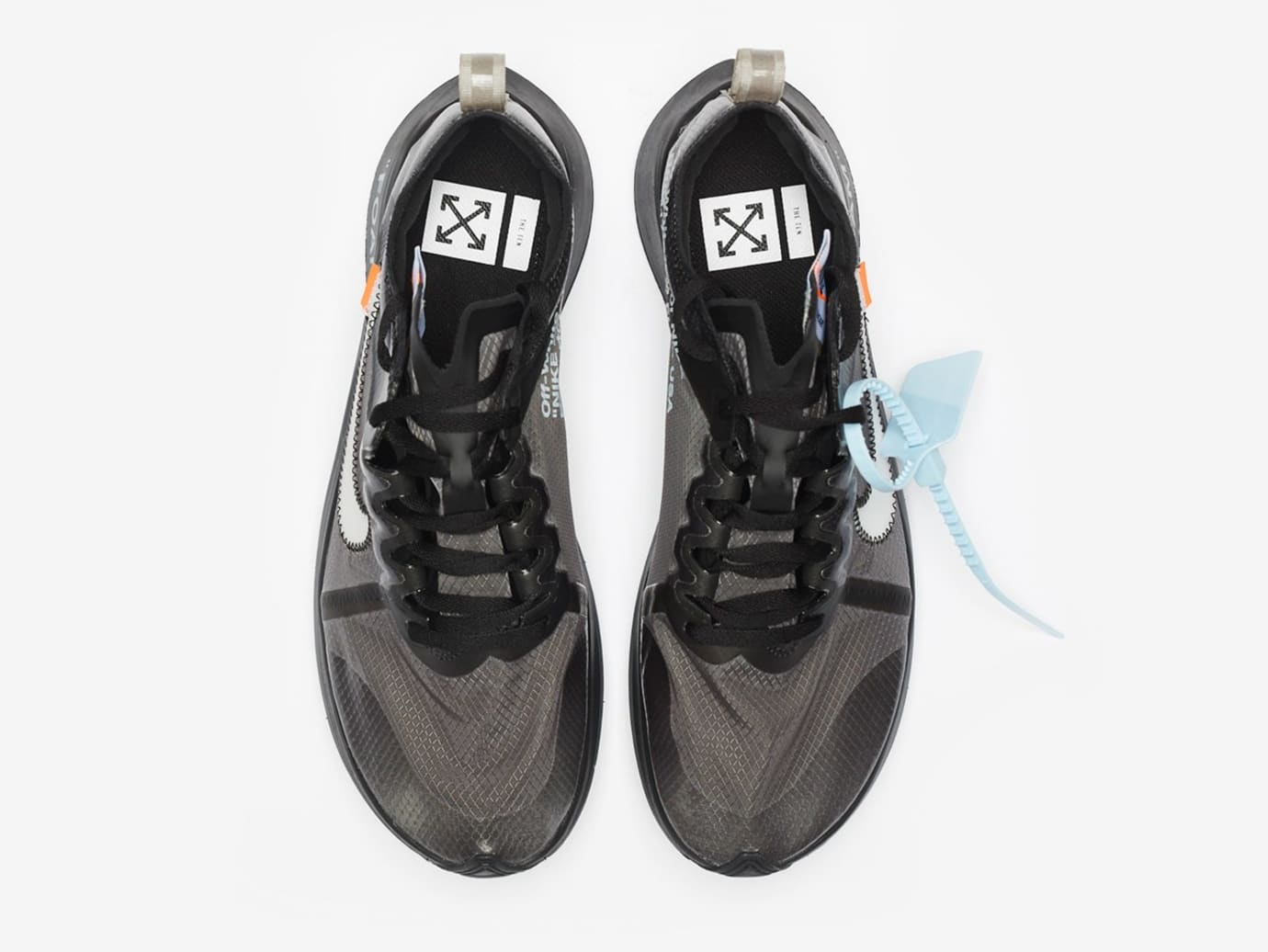 new arrivals cbad6 fad40 Image via Sneakernstuff Off-White x Nike Zoom Fly SP AJ4588-001  Black White -