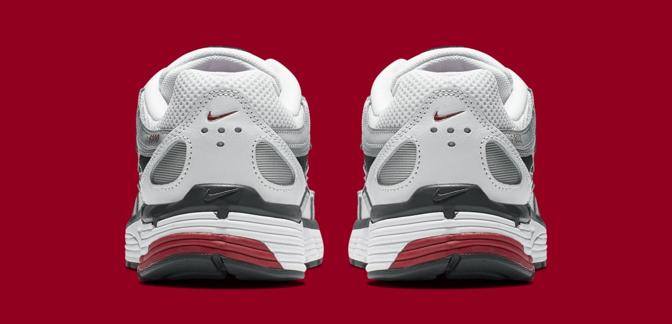 Nike P-6000 CNPT 'Metallic Silver/White/University Red' BV1021-101 (Heel)