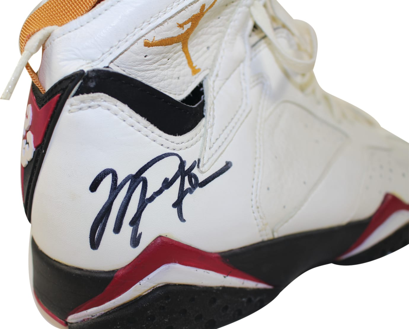 Michael Jordan Game-Worn Air Jordan 7 Cardinal Auction (2)